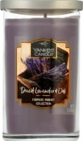 Yankee Candle Dried Lavender & Oak Pillar Candle - Purple