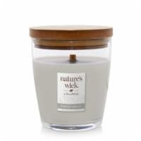 WoodWick® Nature's Wick Smoked Vanilla Jar Candle