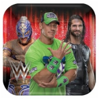 Amscan 636333 WWE Lunch Plate - Pack of 8