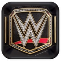 Amscan 636328 WWE Dessert Plate - Pack of 8