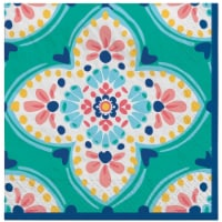 Amscan 634813 Boho Vibes Lunch Napkins - Pack of 16