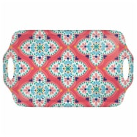 Amscan 634823 19 x 11.5 in. Boho Vibes Handle Tray