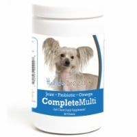 Healthy Breeds 192959009996 Chinese Crested all in one Multivitamin Soft Chew - 90 Count - 90