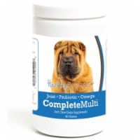 Healthy Breeds 192959010008 Chinese Shar Pei all in one Multivitamin Soft Chew - 90 Count
