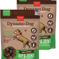 Cloud Star 192959800265 5 oz Dynamo Dog Hip & Joint Chicken Functional Treats - Pack of 2 - 2