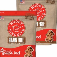 Cloud Star 192959800494 5 oz Buddy Biscuits Soft & Chewy Dog Treats - Grilled Beef - Pack of