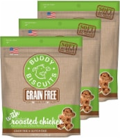 Buddy Biscuits Grain Free Soft & Chewy Dog Treats 5 oz Each, 3 Pack - 1