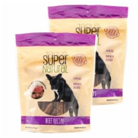 Super Natural 192959809978 5 oz Beef Recipe Dog Treats - Pack of 2