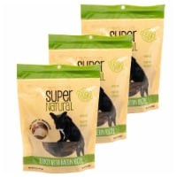 Super Natural 192959810103 5 oz Turkey with Bacon Recipe Dog Treats - Pack of 3 - 1