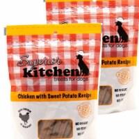 Superior Kitchen 192959810158 5 oz Chicken with Sweet Potato Recipe Dog Treats - Pack of 2