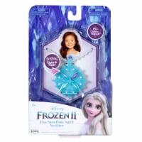 Disney Frozen II 5th Elsa Snowflake Spirit Necklace