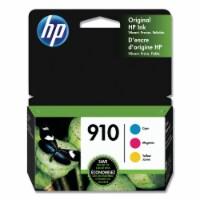 HP 910 Original Color Ink Cartridges - Cyan/Magenta/Yellow