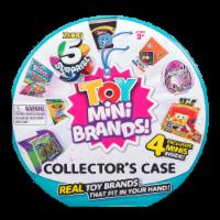 Zuru 5 Surprise Toy Mini Brands Collector's Case with Minis - 5 pc