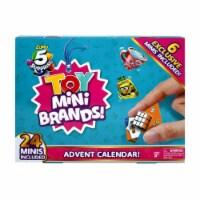 Zuru 5 Surprise Toy Mini Brands Advent Calendar with 6 Exclusive Minis - 1