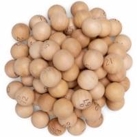 Wooden 7/8-inch Bingo Balls