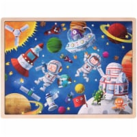 Brybelly TPUZ-903 Ollie & Mr. Noodle Adventurous Astronauts Jigsaw Puzzle - 1