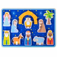 Piece on Earth Nativity Children's Puzzle