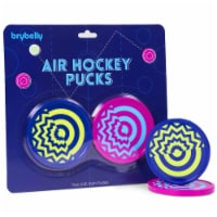 Brybelly GAIR-111 3.25 in. Vivid Air Hockey Pucks - Pack of 2