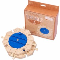 Train Track Turntables, 2-pack