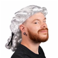 Colonial Powdered Wig, Adult Size