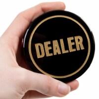 Crystal Dealer Button
