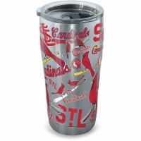 Tervis MLB 24 oz St. Louis Cardinals Multicolored BPA Free Tumbler with Lid - Case Of: 1 - Count of: 1