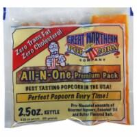 Great Northern Popcorn Bulk Case (80) 2.5 Ounce Popcorn Portion Packs 2 1/2oz - 1 unit