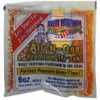 Great Northern Popcorn 1 Case (24) of 6 Ounce Popcorn Portion Packs Kit Cinema - 1 unit
