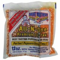 Great Northern Popcorn Case (24) 12 Ounce Popcorn Portion Packs Cinema Kettle - 1 unit