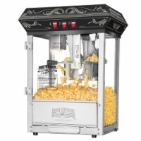 Great Northern Popcorn Black Good Time Popcorn Popper Machine, 8 Ounce