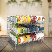 Kitchen Pantry Can Dispenser Holder Metal Rack 36 Food Cans Storage Space Saver - 1 unit