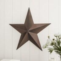 Barn Star-24-Inch Metal Indoor Rustic Farmhouse Americana Hanging Dimensional Wall Decor