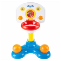 Kids Basketball Hoop- Mini Backboard System with 2 Height Settings, Interactive Sounds Lights - 1 unit