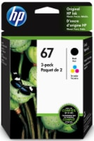 HP Original Inl 67 Ink Cartridges - Black/Tri-Color