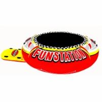 Sportsstuff Funstation 10 Foot PVC Inflatable Water Trampoline Kids Jump Bouncer - 1 Unit