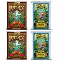 FoxFarm Ocean Forest Garden Soil Mix (2) + Happy Frog Organic Potting Soil (2) - 1 Piece