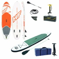 Bestway Inflatable 9ft Aqua Paddle Board & Bestway Inflatable 10ft Paddle Board - 1 Unit