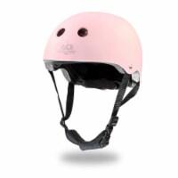 Kinderfeets Adjustable Kids Helmet Bundle with Balance Bike Trike Tricycle, Pink