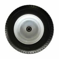 SLT Gdpodts 16 x 6.50-8 Inch Flat Free Wheelbarrow Replacement Tire - 1 Piece