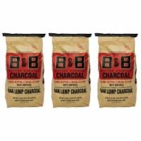 B&B Charcoal Signature Low Smoke Oak Lump Grilling Charcoal, 20 Pounds (3 Pack) - 1 Piece