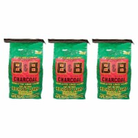 B&B Charcoal Signature Hickory Lump Grilling Smoking Charcoal, 8 Pounds (3 Pack) - 1 Piece