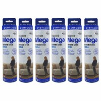 evercare Pet Mega Extreme Surface Coverage 50 Layer Lint Roller Refill (6 Pack) - 1 Piece