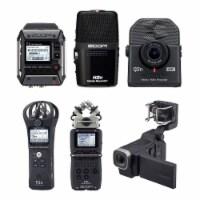 Zoom Digital Audio Recorder Set w/ Mic, Q2N4K 4K Cam, & ZQ8 Professional Camera - 1 Piece
