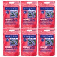 Coast of Maine Mount Desert Organic Cactus Succulent Mix, 8 Quart (6 Pack) - 1 Piece