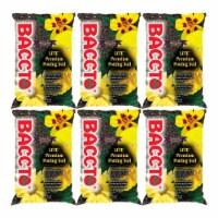 Michigan Peat 1420 Baccto Lite Premium Potting Soil, 20 Quart Bag (6 Pack) - 1 Piece