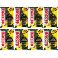 Michigan Peat 1420 Baccto Lite Premium Potting Soil, 20 Quart Bag (8 Pack) - 1 Piece