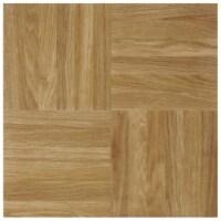 Achim Home Furnishings Nexus Peel & Stick Vinyl Floor Tile, Oak Parquet, 40pk - 1 Piece