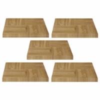 Achim Home Furnishings Nexus Peel & Stick Vinyl Floor Tile, Oak Parquet, 100pk - 1 Piece