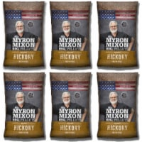 Myron Mixon Smokers Wood BBQ Pellets for Smoking & Grilling, Hickory (6 Pack) - 1 Piece