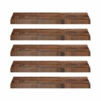 Achim Home Furnishings Tivoli II Peel & Stick Vinyl Floor Planks, Mahogany, 10Pk (5 Pack) - 1 Piece